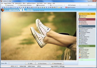 easy to use photo editing software