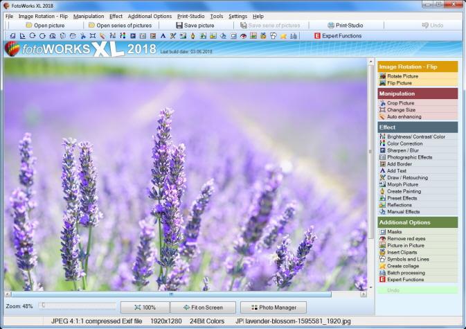 new photo editing software