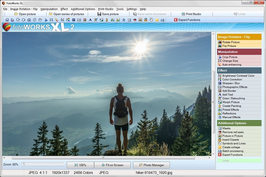free windows 7 photo editing software download